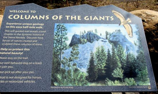 Columns of the Giants, Pinecrest, Ca