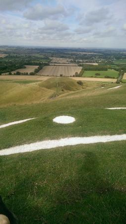 Wiltshire, UK: WhiteHorse Hill