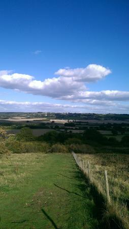 Wiltshire, UK: View from Lodge Hill in Bucks