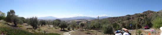 Casarabonela, Spanien: View from tent