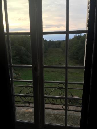 Chateau le Corvier : la vue