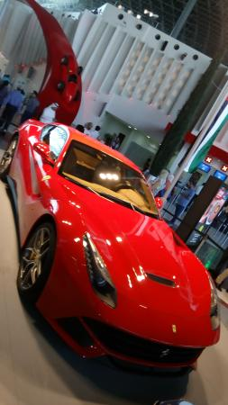 ferrari engine picture of ferrari world abu dhabi abu dhabi tripadvisor. Black Bedroom Furniture Sets. Home Design Ideas