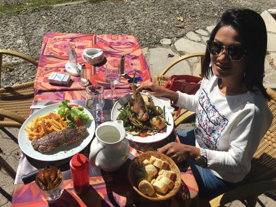 Restaurant Le Provence : notre déjeuner
