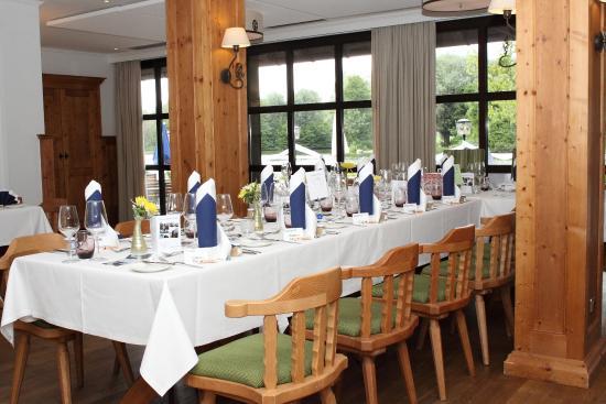 Tischdeko Picture Of Restaurant Biergarten Michaeligarten