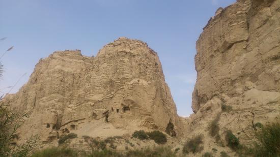 Kuqa County, Trung Quốc: キジル石窟ソグト溝