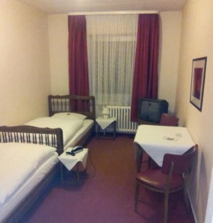 Geilenkirchen, ألمانيا: Hotel zur Post, Gelsenkirchen. Zweibettzimmer
