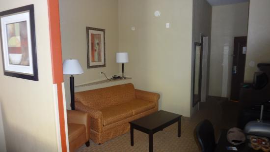 Comfort Suites: Zithoek in motelkamer