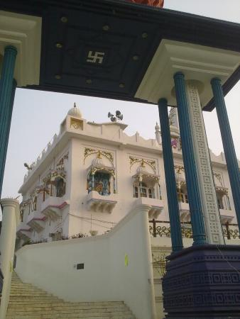 View of the temple campus Picture of Kathgarh Temple Pathankot