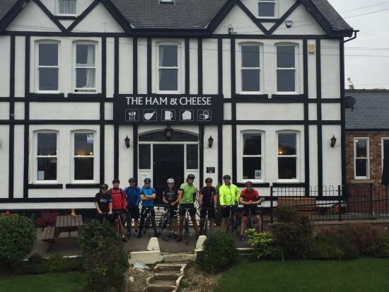 Ham & Cheese Country Inn: Bon voyage - day 2