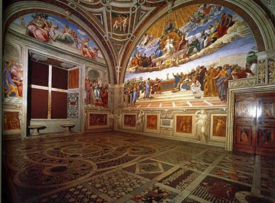 the raphael rooms picture of stanze di raffaello vatican city tripadvisor. Black Bedroom Furniture Sets. Home Design Ideas