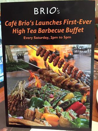 Cafe Brio's BBQ Buffet