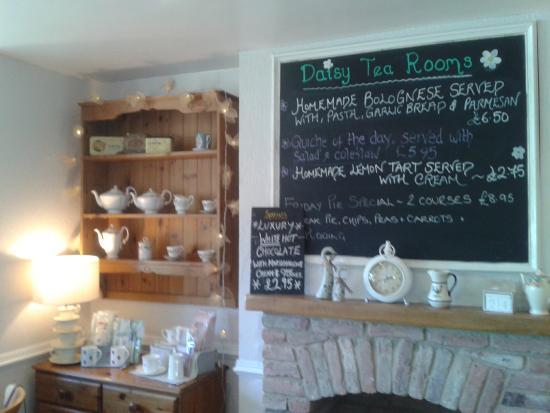 Daisy Tea Rooms: Specials Board