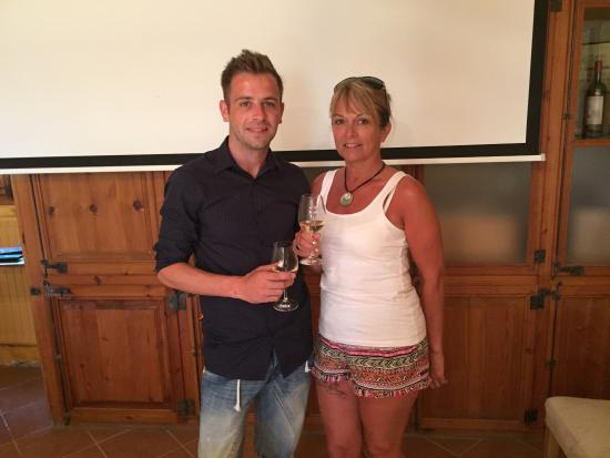 Open Guide Group: Dean and his Mum at Albet i Noia