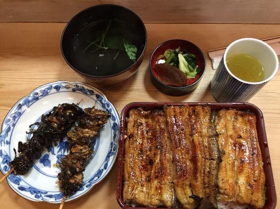 Irokawa : Liver, neck, large eel box set