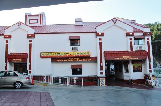 Railhead Family Restaurant : Railhouse Family Restaurant, Keystone, SD, Sep 2015