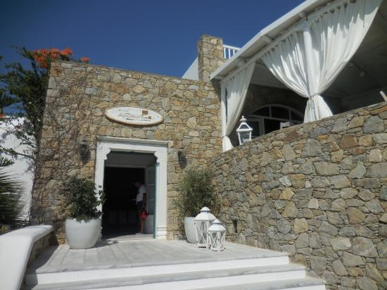 Apollonia Hotel & Resort: Hotel Eingang