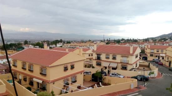 Apartamentos Santa Clara : Вид из номера