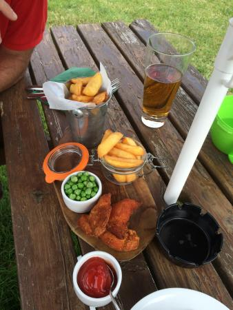 Chips And Childs Meal Of Chicken Goujons Picture Of The Creek