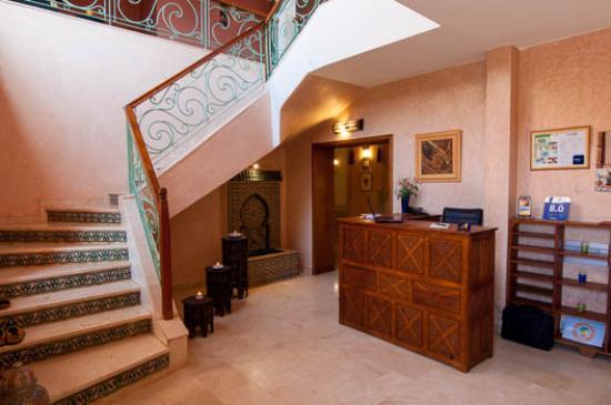 Villa des Trois Golfs: réception