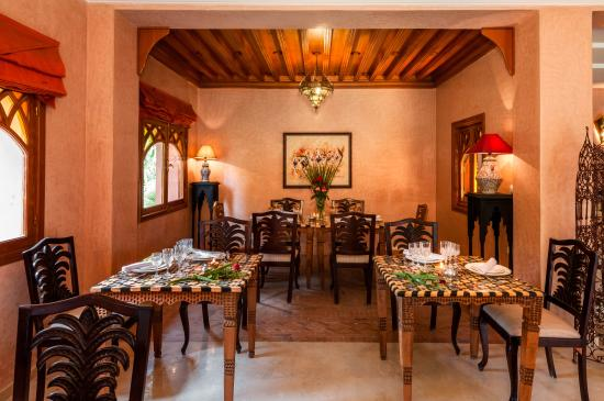 Villa des Trois Golfs: restaurant