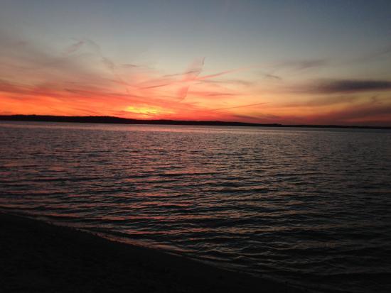 Shelter Island Ny Sunset At Crescent Beach