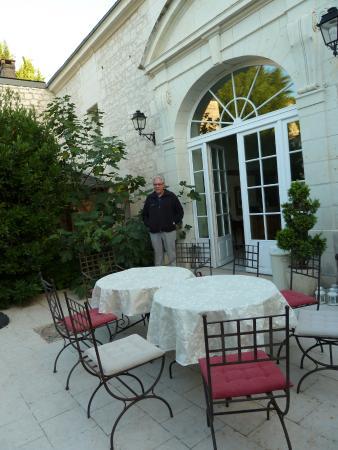 La Closerie Saint Martin: Courtyard at La Closerie