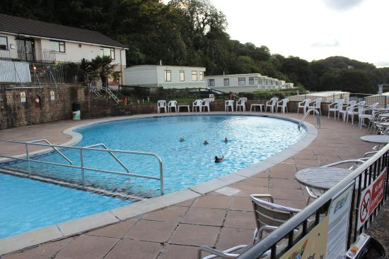 Ducks In The Pool Picture Of Sandaway Beach Holiday Park Combe Martin Tripadvisor