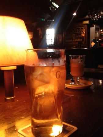 Dublin: Dobry cider, kawa z Baileysem też pyszna.
