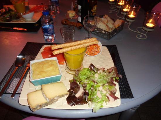 Godchure: assiette repas