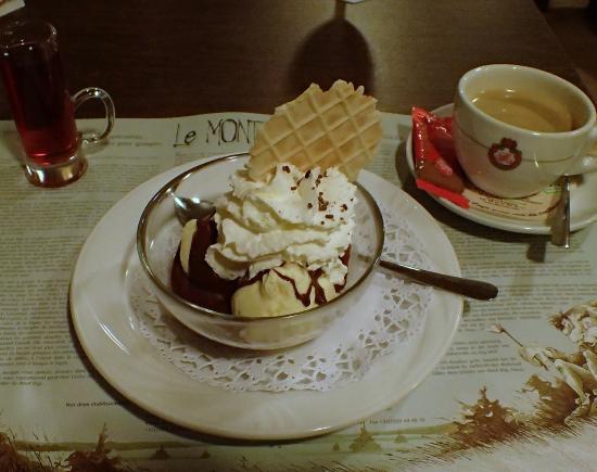 Robertville, Βέλγιο: le dessert