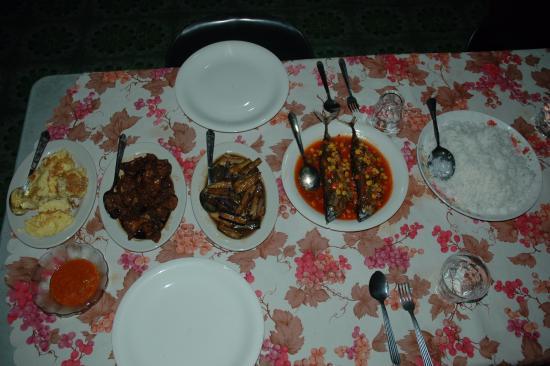 Osman's Homestay: Dinner for two