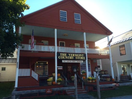 Vermont Country Store: Front of the store at Fall 2015