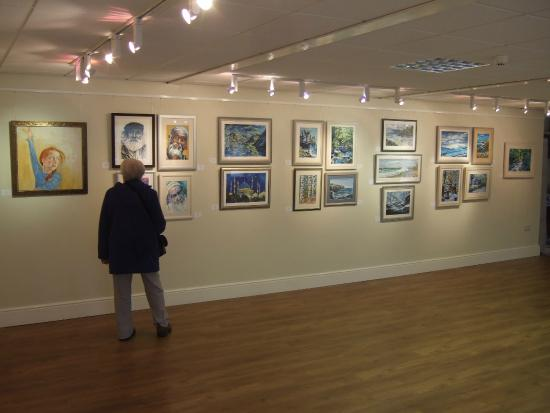 Laxey Woollen Mill and Gallery: The gallery