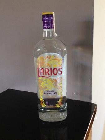Riogordo, İspanya: Spaanse gin, Larios
