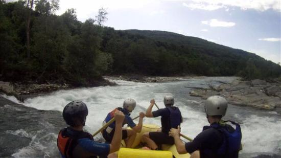 Plav Municipality, Montenegro: Rafting on Lim river near Plav