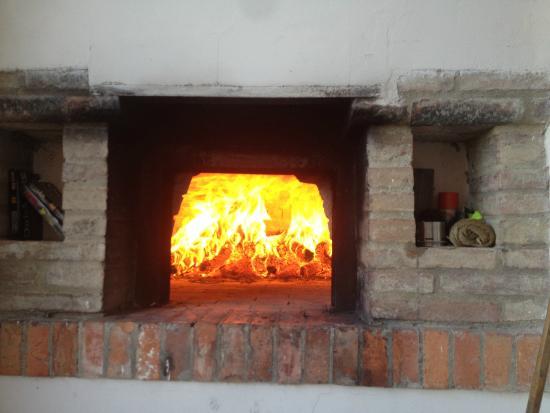 La Bandita: Fab pizza oven