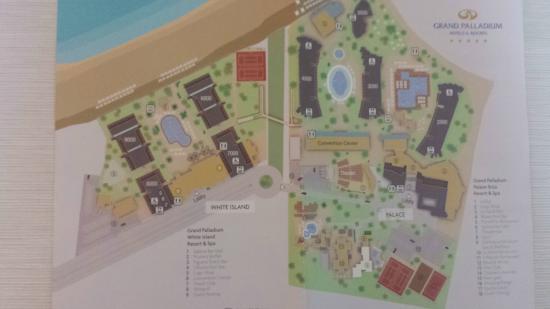 Playa D En Bossa Mapa.Mapa Picture Of Grand Palladium White Island Resort Spa