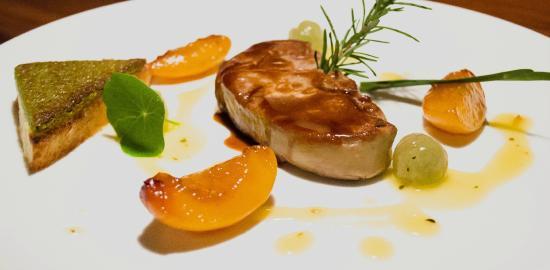 La Bourgogne : Foie gras