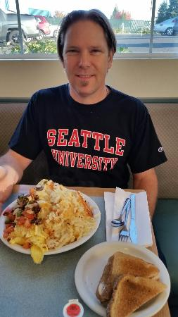 Vancouver, واشنطن: This the half omelette!