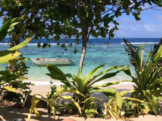 Maqai Beach Eco Surf Resort View From Sun Bed