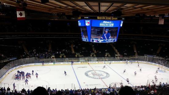 Auditorium Picture Of Madison Square Garden New York