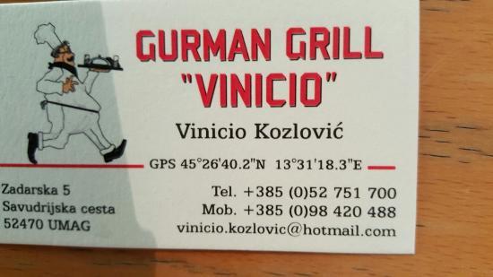 """Gurman Grill: Nuovo indirizzo è """"piantina"""" utile."""