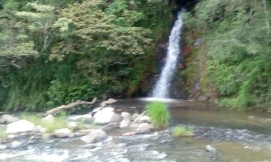 Santa Maria, Kostaryka: Linda cascada