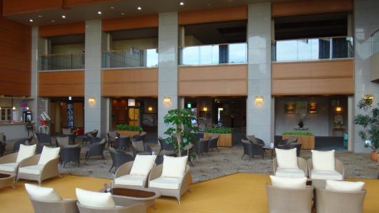 Tendo Hotel: ロビーラウンジ