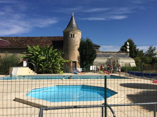 Ingrandes, فرنسا: Piscine jacusi