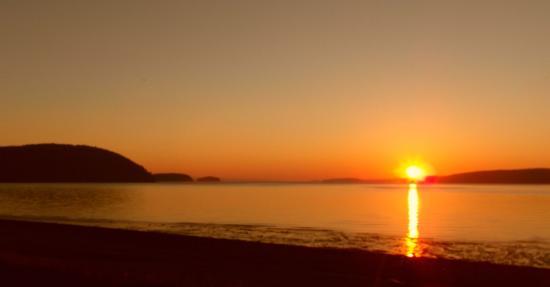 Five Islands, Canada: sunset