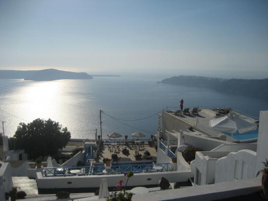 Kasimatis Studios Hotel : view