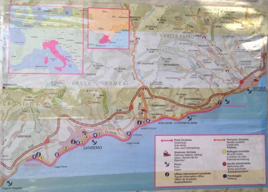San Lorenzo al Mare, Italy: Il percorso
