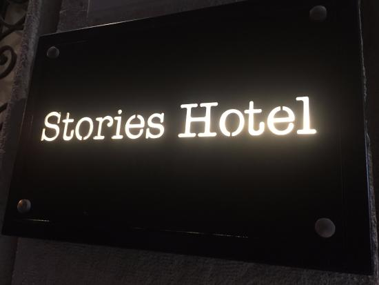 Stories Hotel Kuloglu: Really liked the hotel logo :)