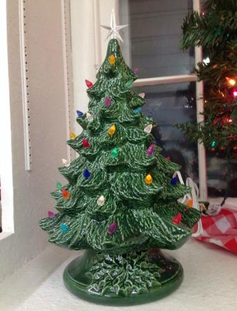Rough Branch Christmas Tree Picture Of The Ceramic Barn Mount